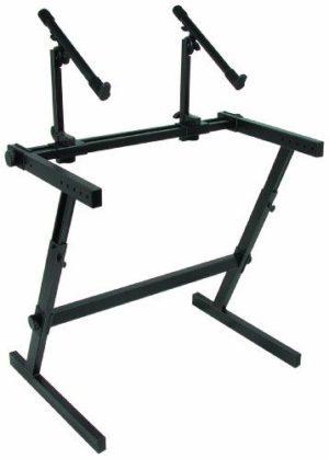 Quik Lok Z 726 Z Frame 2 Tier Keyboard Stand Black