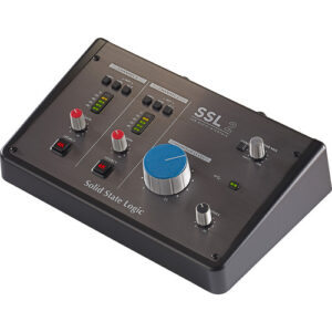 Solid State Logic SSL 2  2-In/2-Out USB-C Audio Interface