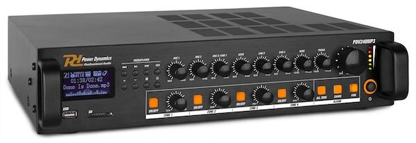 Mixer Amplifier 4 Zones