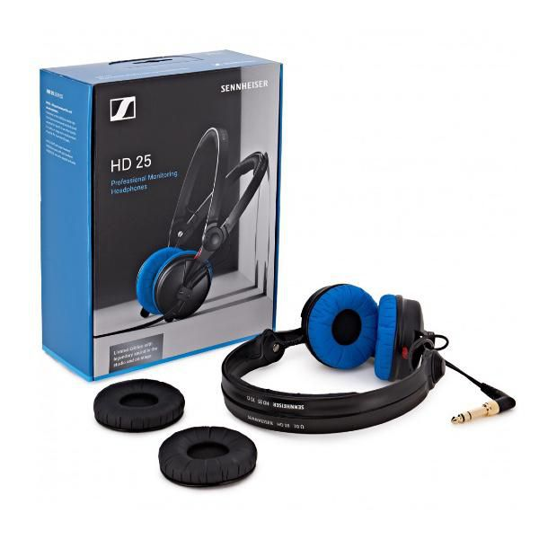 DJ Headphones Blue